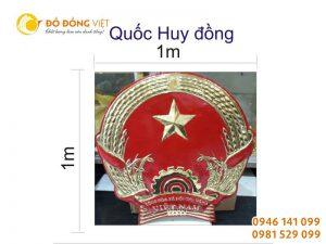 Đồ đồng Việt đúc quốc huy bằng đồng theo mẫu chuẩn, uy tín, giá tốt